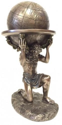 Picture of Atlas Burden Bronze Figurine 24cm