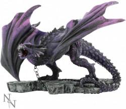Picture of Azar the Aggressor Dragon Figurine 22cm