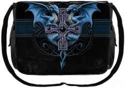Picture of Dragon Duo Messenger Bag (Anne Stokes)