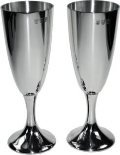 Picture of Pair of Polished Celebration Goblets