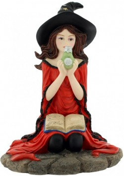 Picture of The Red Witch Figurine 16cm