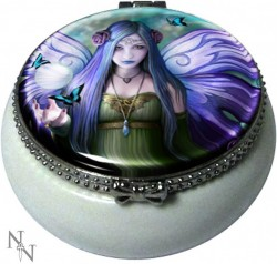 Picture of Mystic Aura Small Trinket Box (Anne Stokes) 5.5cm