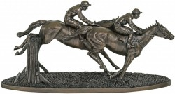 Picture of Over The Last Bronze Horse Sculpture 47cm LARGE