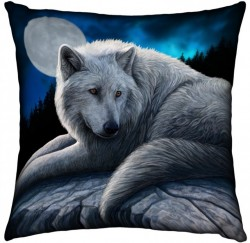 Picture of Guardian of The North Wolf Cushion (Lisa Parker)