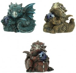 Picture of Dragon Figurines (Set of 3)