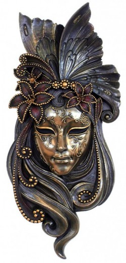 Picture of Venetian Mask Lily (Genesis Fine Arts)