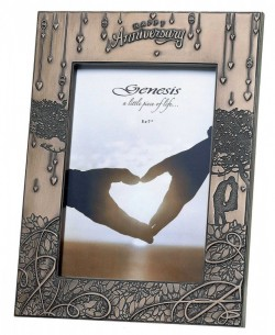 Picture of Anniversary Frame Bronze 5 x 7