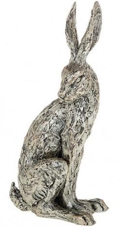 Picture of Champagne Bronze Hare Sitting Figurine 30 cm