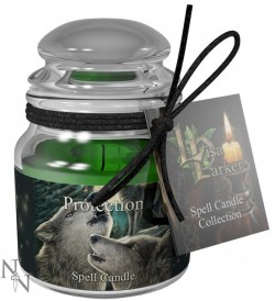 Picture of Protection Spell Candle - Lavender (Lisa Parker)