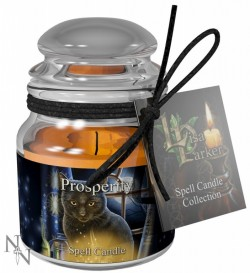 Picture of Prosperity Spell Candle - Jasmine (Lisa Parker)