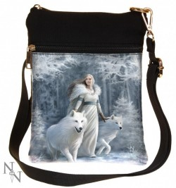 Picture of Winter Guardians Small Shoulder Bag (Anne Stokes)