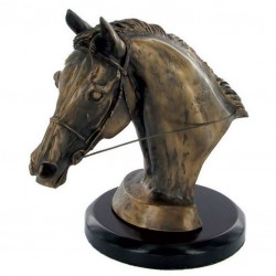 Picture of Eventers Head Figurine With Base (Harriet Glen)