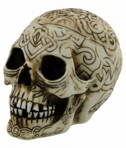 Picture of Celtic Skull Box
