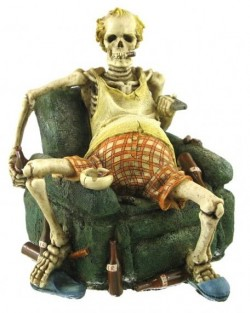 Picture of Unemployed Skeleton Figurine