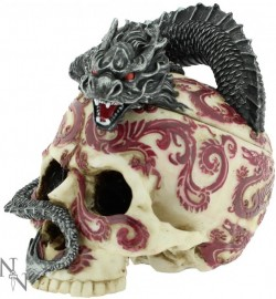 Picture of Eastern Dragon Skull Box (Anne Stokes) Heavyweight