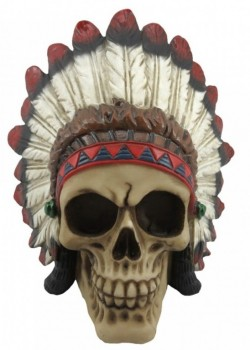 Picture of Indian Chief Skull 14cm