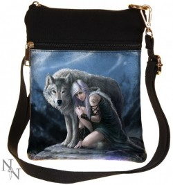 Picture of Protector Small Shoulder Bag (Anne Stokes)