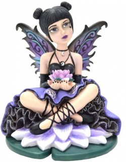 Picture of Luna Gothic Fairy Figurine 13cm (Little Shadows)