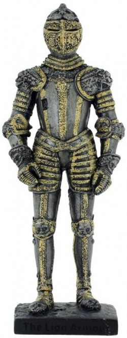 Picture of The Lion Armour Official Knight Figurine with Base
