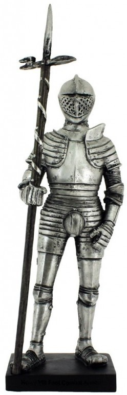 Picture of Henrys VIIIs Official Armour Knight Figurine with Base