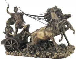 Picture of Apollo on Chariot Bronze Figurine Large