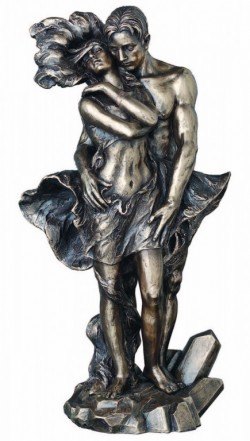 Picture of The Passion of Love Bronze Figurine 30cm