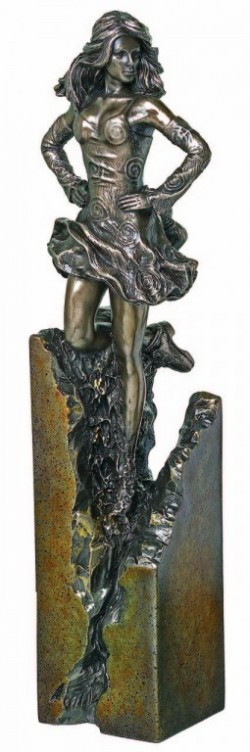 Picture of Celtic Dancer Bronze Sculpture 27cm
