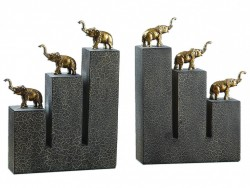 Picture of Elephant Bronze Bookends (Set of 2)