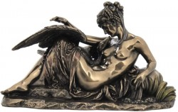 Picture of Leda and the Swan Bronze figurine