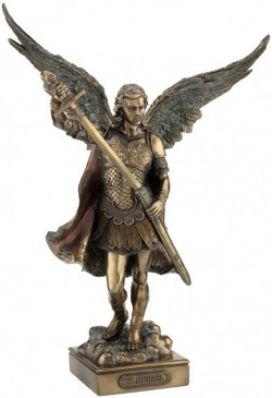 Picture of Archangel Saint Michael - Peace And Justice Bronze Figurine