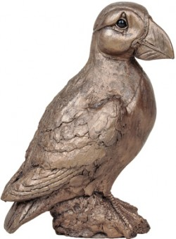 Picture of Coco the Puffin Bronze Sculpture (Harriet Dunn)