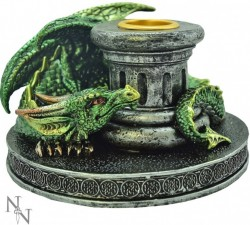Picture of Flame Keeper Dragon Candle Holder