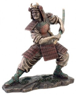 Picture of Samurai Warrior Figurine