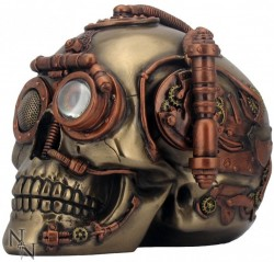 Picture of Steam Powered Observation Skull Bronze
