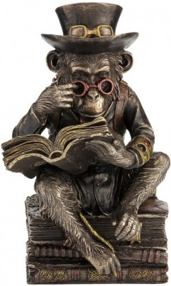 Picture of Steampunk Chimpanzee Darwin Figurine 19.5cm