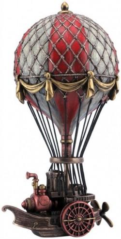Picture of Steampunk Air Ship Bronze Figurine 24.5cm