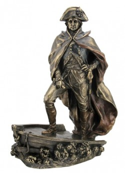 Picture of General George Washington Bronze Figurine