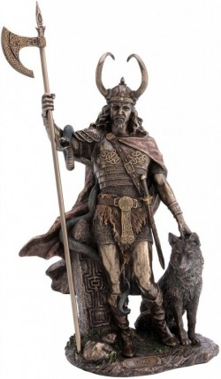Picture of Loki Bronze Statue 35cm