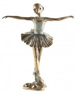 Picture of Ballerina Beautiful Dance Bronze Figurine 2