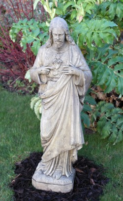 Picture of Stone Jesus Statue 95 cm Medium