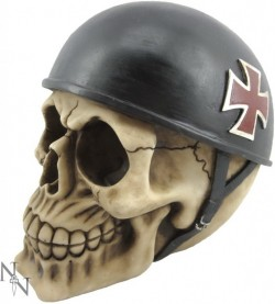 Picture of Biker Skull Ornament