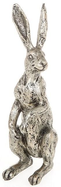 Picture of Champagne Bronze Hare Alert Figurine 21cm