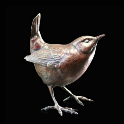 Picture of Wren Standing Figurine (Limited Edition) Michael Simpson LAST FEW LEFT