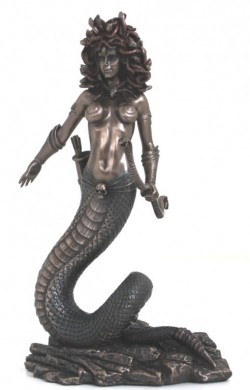 Picture of Medusa Bronze Figurine