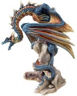 Picture of Grim Guardian Dragon Figurine (Andrew Bill) 21 cm
