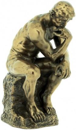 Picture of The Thinker Bronze Figurine 15cm Rodin