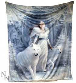 Picture of Winter Guardians Throw (Anne Stokes) 160cm LARGE