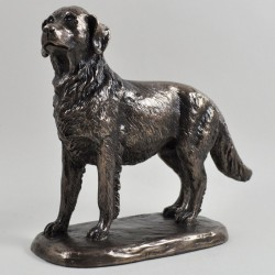 Picture of Golden Retriever Bronze Dog Sculpture (Harriet Glen)
