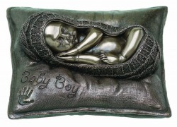 Picture of Sweet Dreams Baby Boy Bronze Figurine