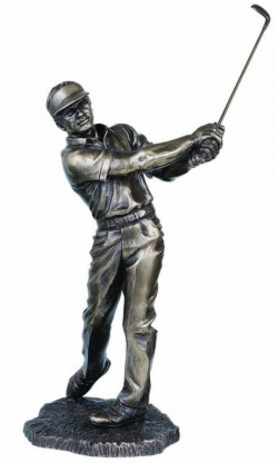 Picture of Golfer Bronze Figurine 42cm LARGE